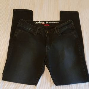 Denizen from Levi's black denim skinny jeans 14